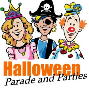 Image result for halloween parade and parties